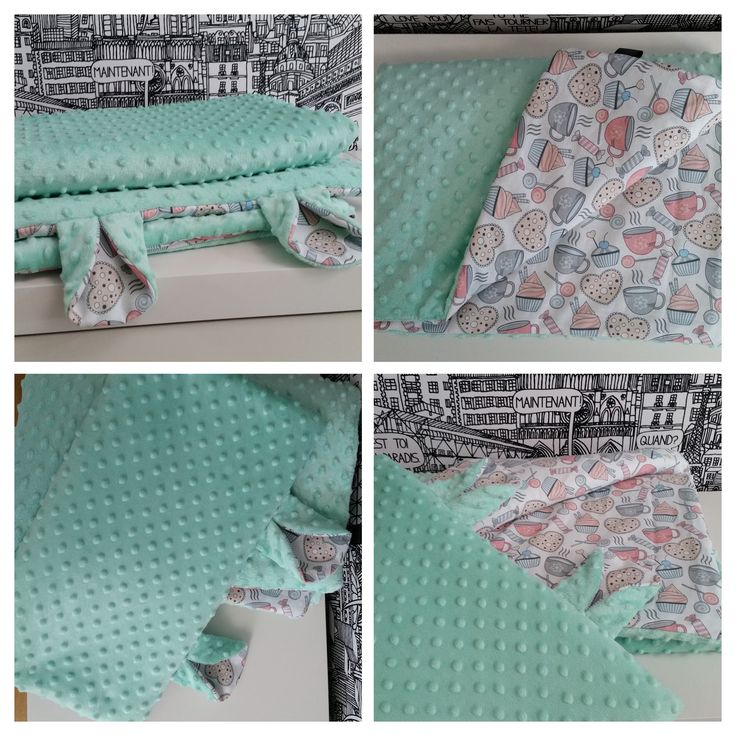 baby blanket & pillow minky