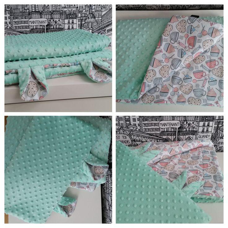 baby blanket & pillow minky