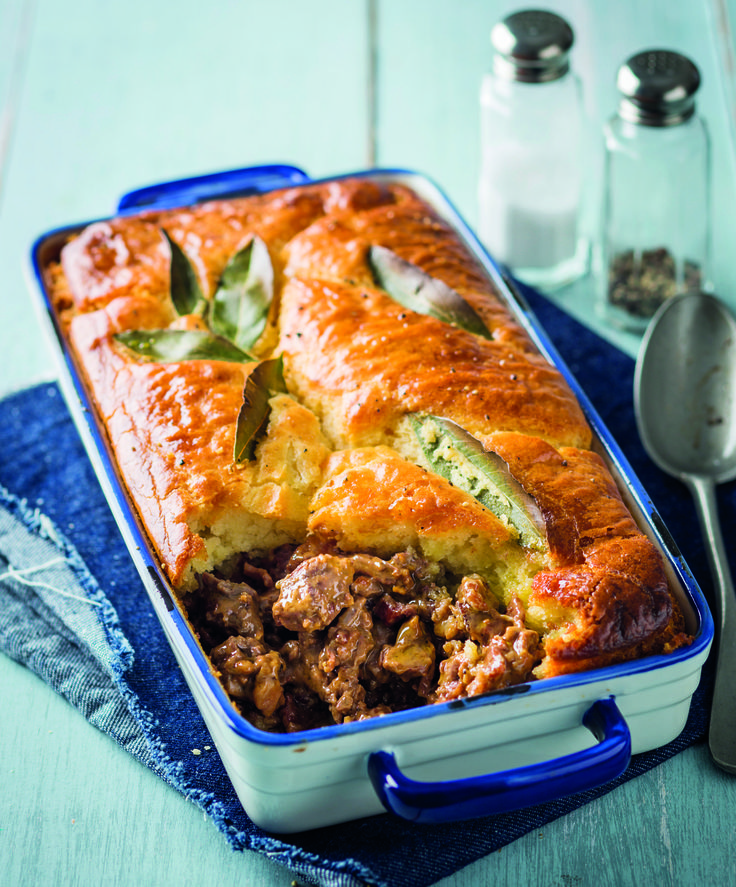 The ostrich pie takes this meal from awesome to awe-inspiring!