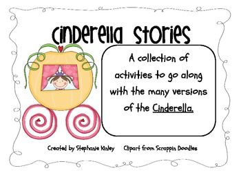 Your students will love all the fun activities in this mini unit. I created this unit to go along with the many versions of the Cinderella This lit...