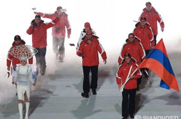 Armenia Marcha en la apertura de los Juegos Olímpicos - Soy Armenio
