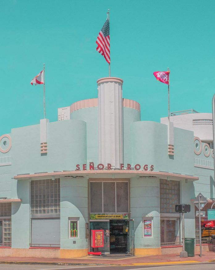 Pastel Colored Urban Photographs In Miami By Minjin Kang And Mijoo Kim Street Photography Modern Miami