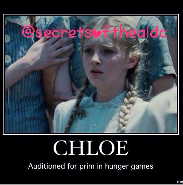 Chloe from Dance Moms?  Honestly, she wouldn't have been a bad Prim.  But Willow was the best choice.