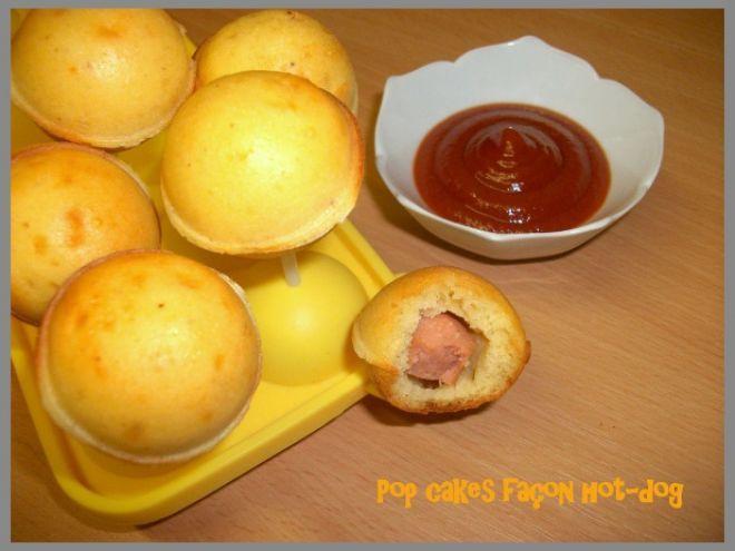 Pop cakes façon hot-dog