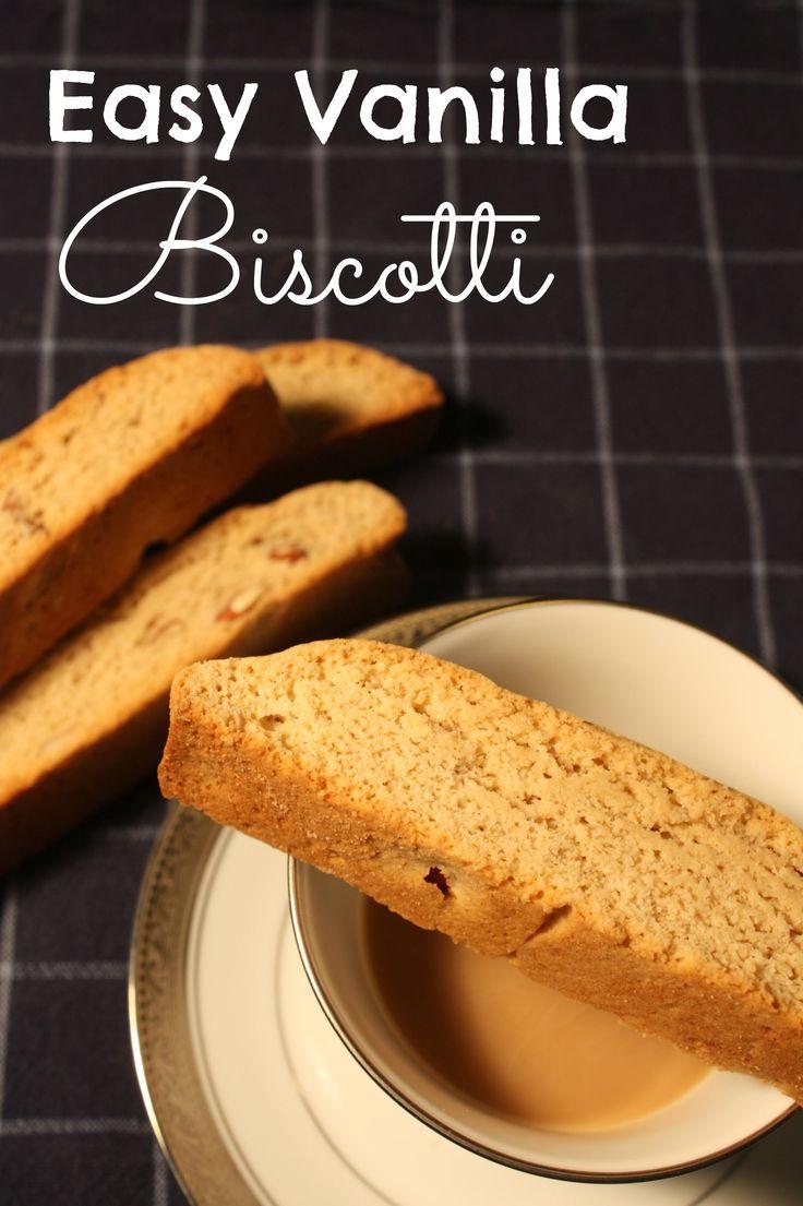Vanilla Biscotti on MyRecipeMagic.com