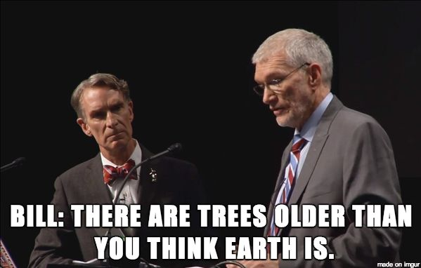 One of my favorite lines from the Bill Nye / Ken Ham debate. hahaha