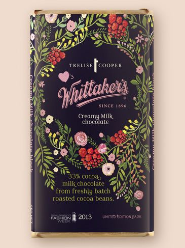 trelise cooper and Whittaker's Chocolates, special for NZ Fashion Week (Sept. 2013)