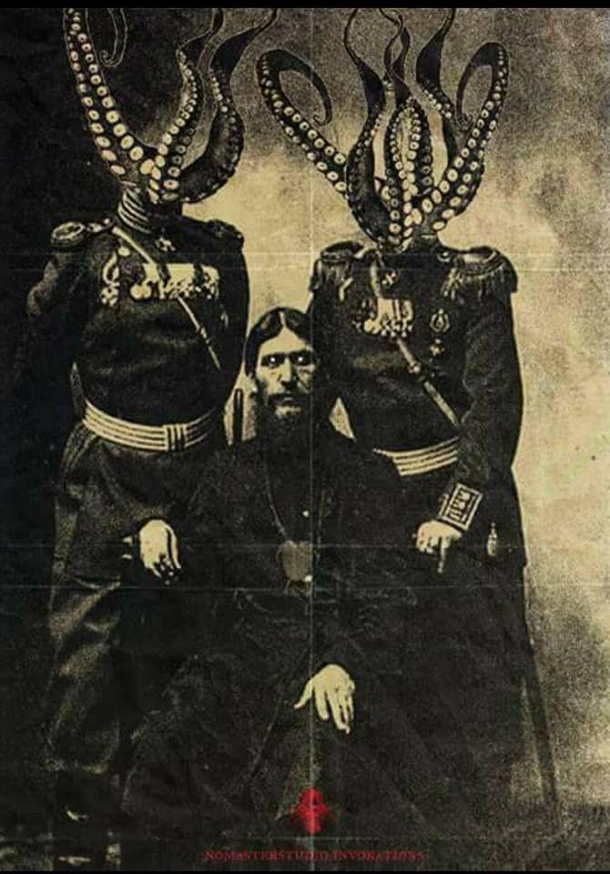 Lovecraftian & mignolian Rasputin