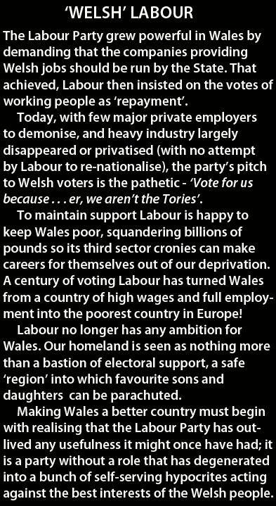 » Plaid Cymru: Ninety Wasted Years