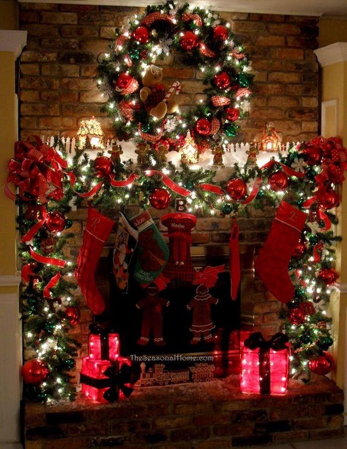 Christmas Mantel Decorations 927 best christmas mantels images on pinterest | christmas mantles