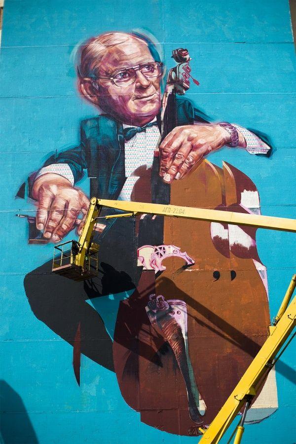 Russian street art - Morik & Aber