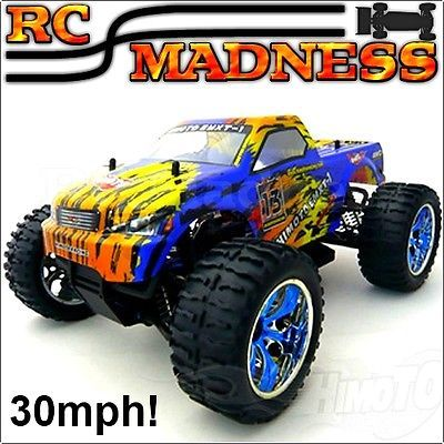 Rc monster #truck car electric #radio/remote control model 1/10 4wd like #nitro,  View more on the LINK: 	http://www.zeppy.io/product/gb/2/250951093548/