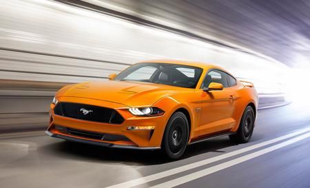 Hot! 2018 Ford Mustang: Drops V-6, Gains New Tech - Official Photos and Info #DetroitAutoShow