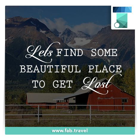 #TravelFabulously  If you are looking to escape the city buzz, #Travel to unique place to have some #Exciting and #Exotic experiences.