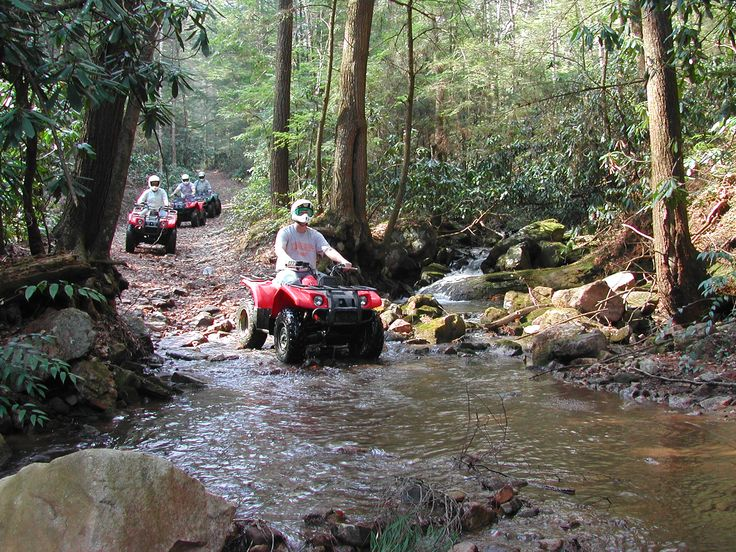 ATV Rides, Bluff Mtn Adventures- Sevierville, TN. Mmmmkkkk ;) I will head to Tennessee !!!