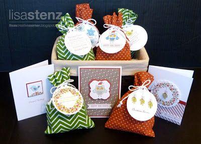 "Lisa's Creative Corner - ""Season's Tweetings"" Gift Bag, Tag, and Card Kit"
