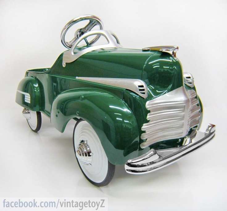 LEAD SLED... Murray made some great pedal cars 1941 Chrysler pedal car by Murray