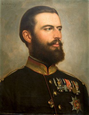 Carol I, king of Romania (George Peter Healy, 1873).