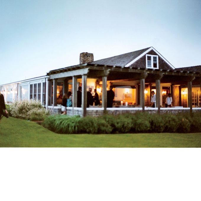 Nantucket wedding venue - Sankaty Head Golf Club clubhouse. Photo: John Dolan
