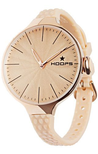 Hoops Chérie L Rose Gold Cipria (2502lg-07) - Hoops Watches on Klepsoo