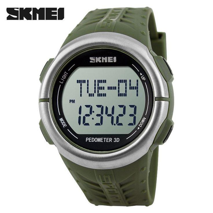 Fashion Pulse Heart Rate Monitor Calories Counter Fitness Watch LED Digital Men's Women Sports Watches Waterproof Wristwatch