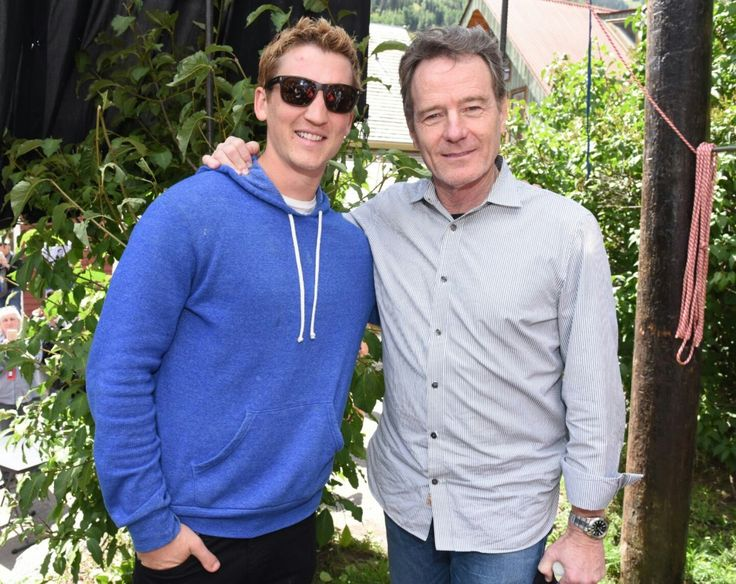 with Miles Teller