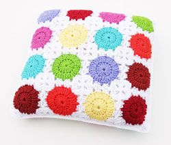Download this FREE Circle-in-a-Square Motif Pillow pattern, courtesy of the Talking Crochet newsletter. Get the pattern here: http://www.crochetmagazine.com/printer.php?mode=article&article_id=1182. Sign up for the free newsletter here: www.anniesnewsletters.com.