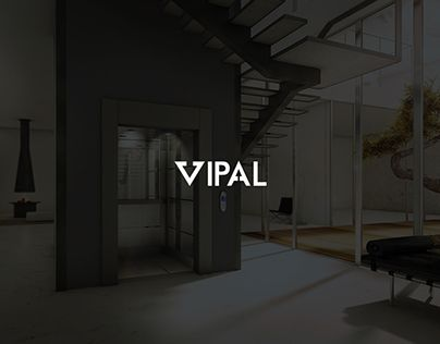V I P A L  Brand Identification for VIPAL a leading-edge technology Italian lift company.