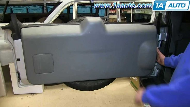 How To Remove Inside Tailgate Panel Trim 2006 Jeep Liberty