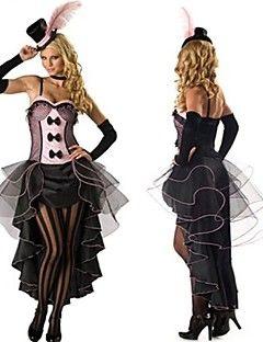 troupe de cirque arc type queue d\u0027aronde de dentelle mauve\u0026 cosplay costume