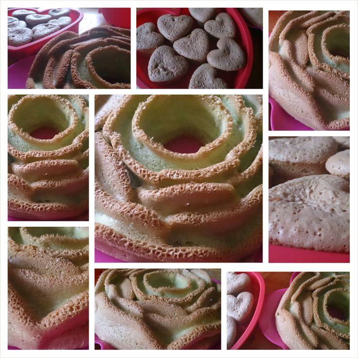 Home made Pandan Cake