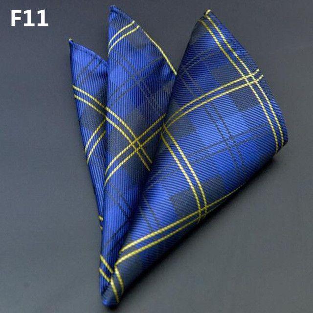 New Arrival 25*25cm Men's Suit Handkerchiefs Polyester Floral Printed Pocket Square Polka Dots Hankies Men Business Casual Towel