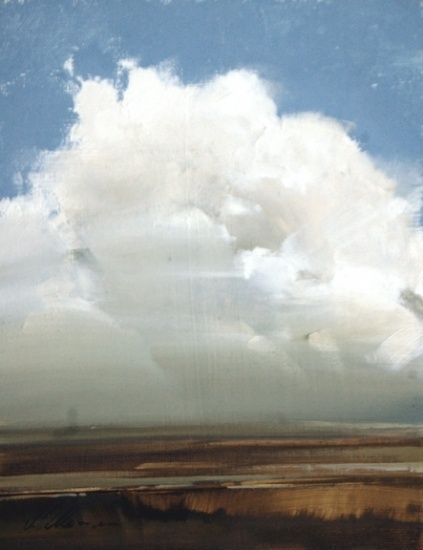 """Miles Up by Joseph Alleman Oil ~ 9"""" x 7"""" w"""