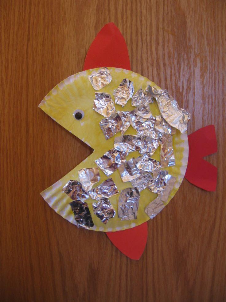 fancy foil fish 768x1024 Letter F Crafts