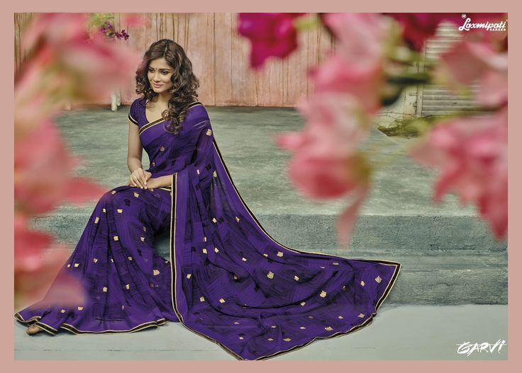 #SummerSarees #Collection - Buy the Latest #Designer_Printed_Sarees for an Ideal Summer Look. Designer Printed clothing makes a comeback each summer season. Shop now @http://goo.gl/758uAY