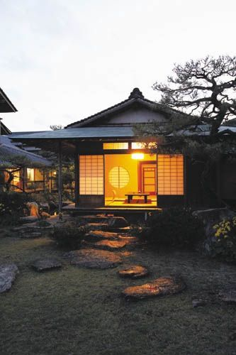 Hanare:Small house in the Japanese garden