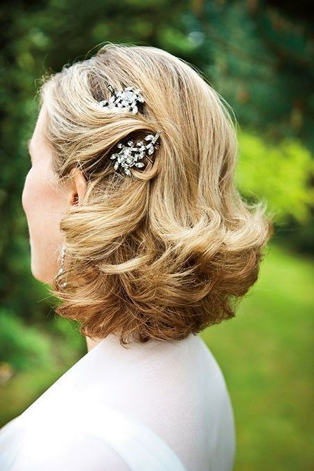 14 wedding hair clips for short hair 604 bridal hairstyles for short haircut