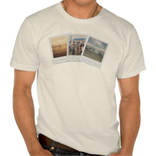 Surf the Dream - Polaroid Images Tee Shirt
