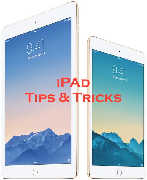 Just got your iPad and are anxious to learn of it's amazing features but don't want to read the manual? Well here's 60 easy tips and tricks to help you use the iPad to its potential!