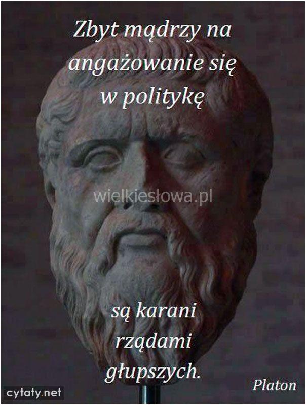 Zbyt mądrzy na angażowanie się w politykę...