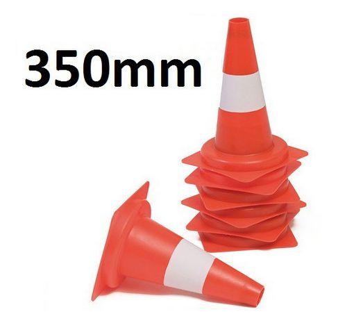 Leitkegel 350mm, mit 1 weißen Streifen #Leitkegel #Absicherung #Sicherung #Veranstaltung #Sicherheit #Verkehrssicherung #Verkehrssicherheit #VKSB