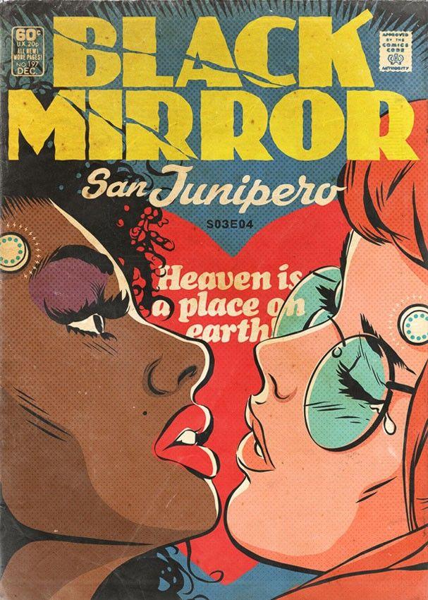 """Quarto episódio da terceira temporada de """"Black Mirror"""", """"San Junipero"""" (Foto: Reprodução)"""