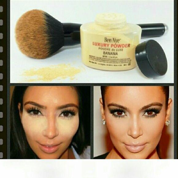 Contour Powder Ben Nye banana luxury loose powder , Brand new Ben Nye Makeup Face Powder