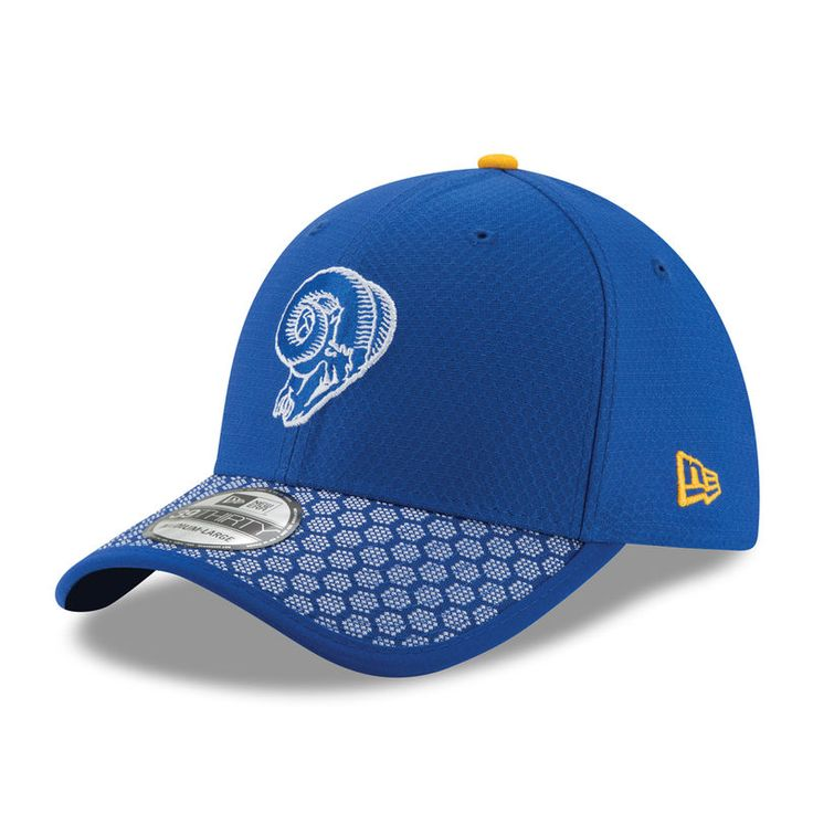 Los Angeles Rams New Era Youth 2017 Sideline Historic 39THIRTY Flex Hat - Royal