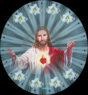 GIFS : IMÁGENES ANIMADAS DEL SAGRADO CORAZÓN DE JESÚS