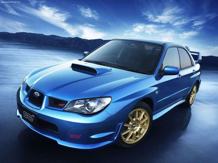 2006 WRX STi.  AWD, 200++HP  turbo.  Perfect for the family (and for me) on weekends. #car