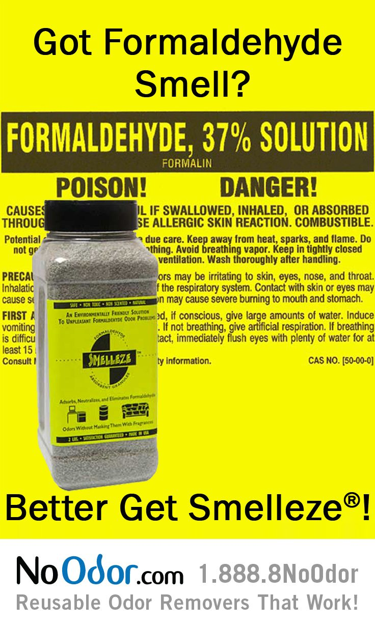 9 Best Formaldehyde Smell Solutions Images On Pinterest