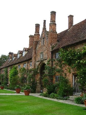 Sissinghurst Castle in Kent, England.  The National Trust's most-visited garden and formerly the home of Vita Sackville-West and her husband Harold Nicolson.