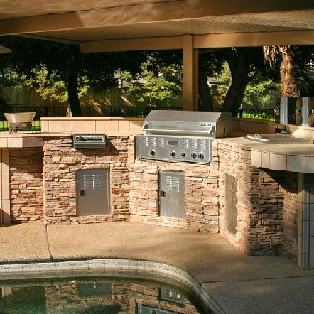 Outdoor Kitchen Islands U0026 Grills Fresno CA   San Jose CA
