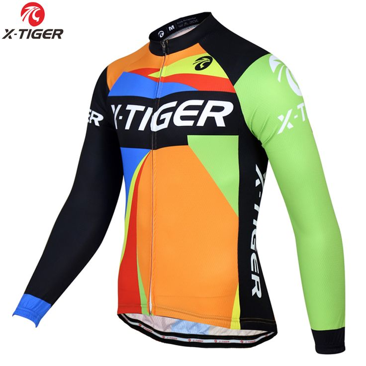 X-Tiger 2017 Winter Cycling Jerseys MTB Bicycle Clothing Maillot Ropa Ciclismo Invierno Winter Thermal Fleece Bike Clothes Wear #Affiliate